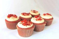 Photo3: Red Velvet Cupcakes (×6) (3)