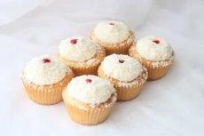 Photo2: Coconut & Raspberry Cupcakes (×6) (2)