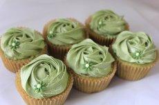 Photo2:  Matcha Cupcakes (×6) (2)