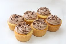 Photo2: Vanilla Choco Cupcakes (×6) (2)