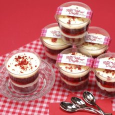 Photo1: Red Velvet Trifle Box(6p) (1)