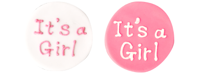 Photo1: [Options] It's a Girl (1)