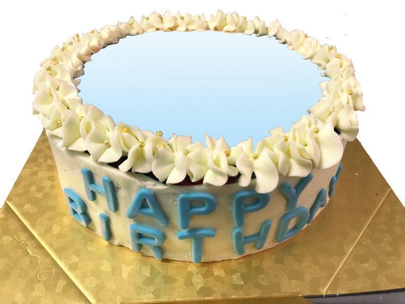 Photo1: Photo Image Buttercream Cake (1)