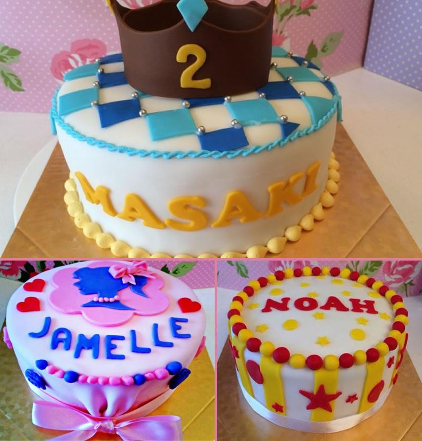 Photo1: Custom Fondant Cakes (1)