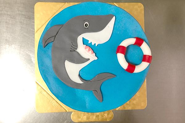 Photo1: Character Fondant covered cake (1)