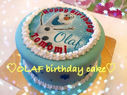 Photo1: Photo Image Fondant Cake (1)