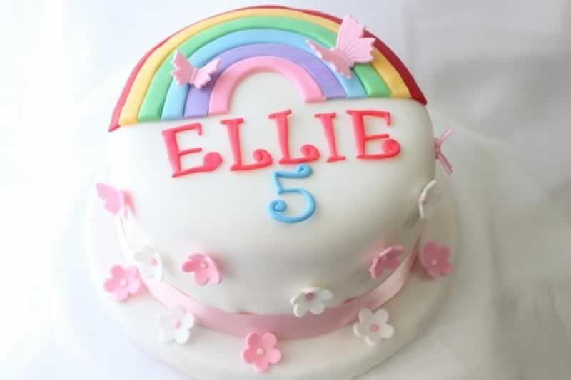 Photo1: Rainbow cake (1)