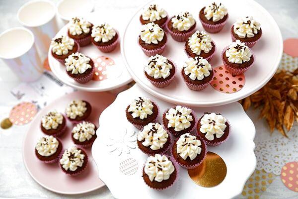 Photo1: Choco Vanilla(Mini Cupcakes) (1)