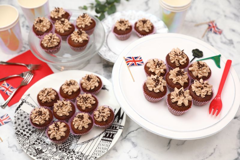 Photo1: Double Choco(Mini Cupcakes) (1)