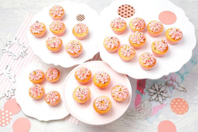 Photo1: Pink Vanilla(Mini Cupcakes) (1)