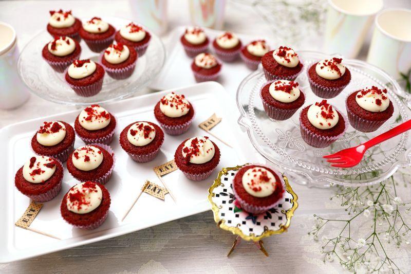 Photo1: Red Velvet(Mini Cupcakes) (1)