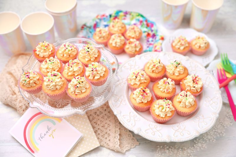 Photo1: Vanilla(Mini Cupcakes) (1)